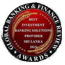 best investment banking solutions provider sri lanka 2015