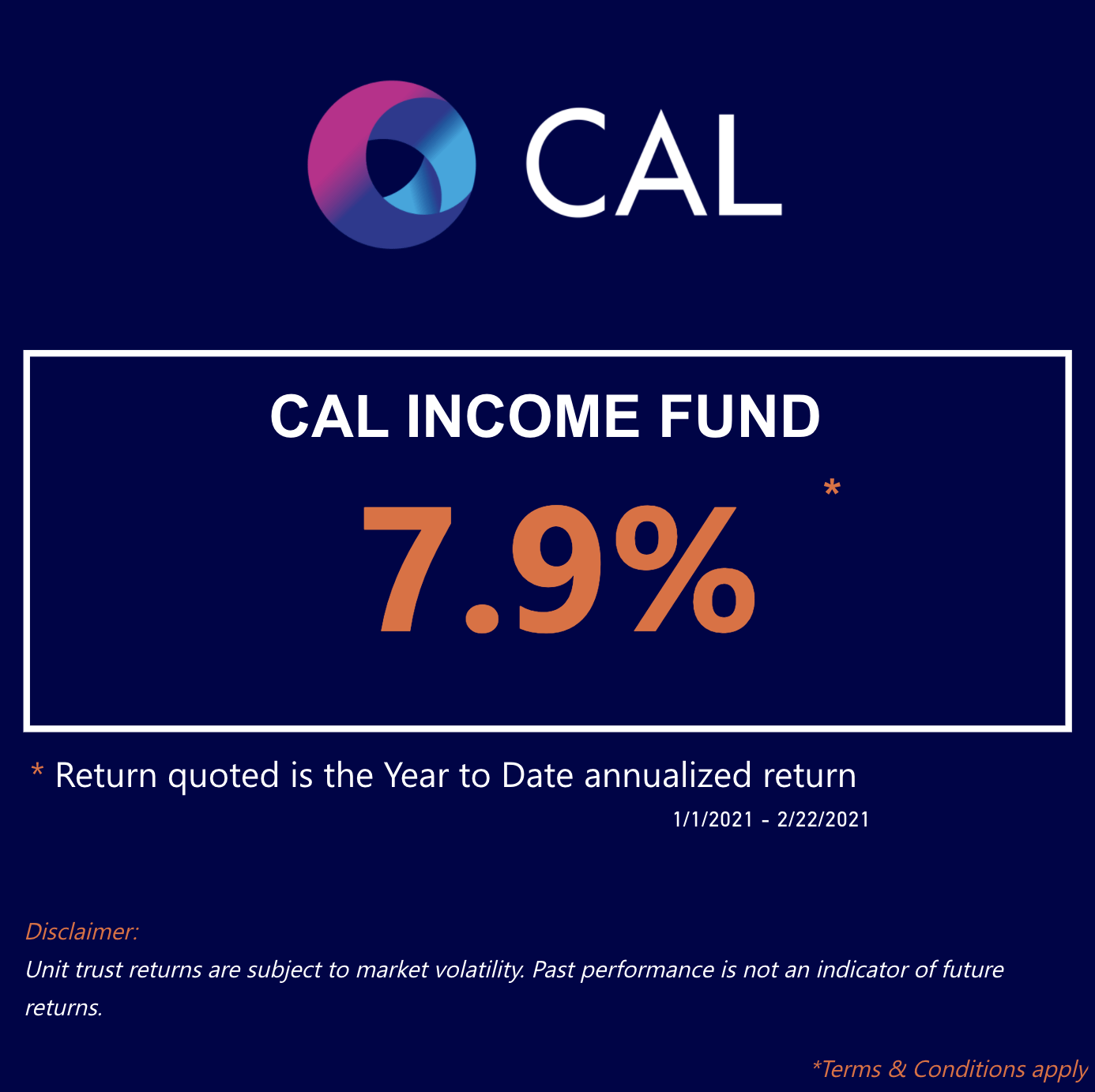 cal income fund